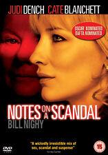 NOTES ON A SCANDAL - DVD - REGION 2 UK