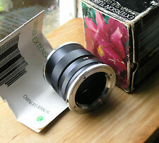 Minolta MD ,MC,SR original manual  extension tubes set II (made in japan)