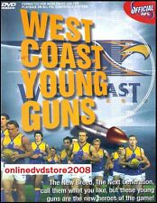 WEST COAST Eagles YOUNG GUNS - Official Aussie Rules Footy Football AFL DVD NEW