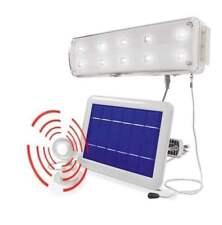 Lampada emergenza a energia solare plafoniera a led con pannello fotovoltaico