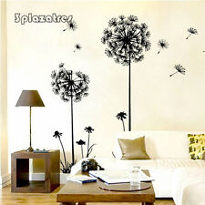 TRE Home Decor Vinyl Art DIY Dandelion Fly Mural Removable Room Wall Decals