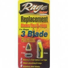 Rage 3 Blade Replacement Blades/Tips/O-rings