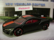 2017 Hot Wheels 2012 ACURA NSX CONCEPT☆matte black; Red☆pack fresh☆LOOSE