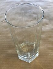 """Clear Glass Cup 6"""" Tall"""