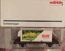 Märklin Spur 1 Güterwaggon Containerwagen Alno Originalverpackung