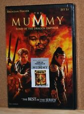 The Mummy  Tomb of the Dragon Emperor DVD is New