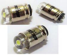 10 weiße LED Steckbirnen Märklin 60000 MS4 18V 24V Glühlampen Lämpchen Birnchen
