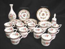 Coalport Ming Rose  English Bone China Group of 26 Pieces
