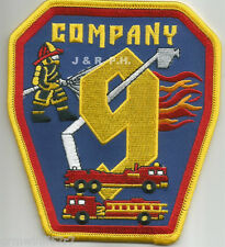 "Dekalb County  Company-9, GA  (4"" x 4.5"" size)  fire patch"