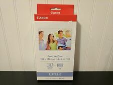 Canon Selphy Printer KP-36IP Color Ink Cartridge and 36 4x6 Photo Paper Set New