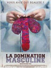 Affiche 40x60cm LA DOMINATION MASCULINE 2009 Patric Jean - Documentaire TBE