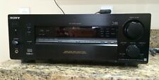Sony STR-DA2ES Digital Audio Video Home Theater Control Center 600 Watt Black