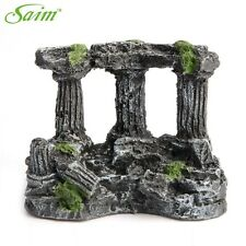 Aquatic Creations Corner Columns Stone Decoration Rock Aquarium Decor Ornaments