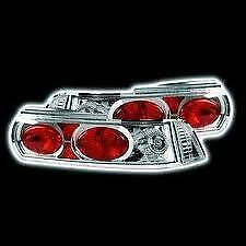 NEW Toyota MR2 mk2 Crystal Clear Chrome Rear tail lights Clusters Lenses SW20