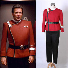 Star Trek II-VI Wrath of Khan starfleet Costume Uniform *Tailored*