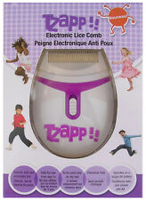 TZAPP!! Electronic Kids Lice Zapper Robi Comb Nit Detects & Kills Chemical Free