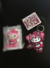 Sanrio Hello Kitty Japanimation USB Flash 4 GB And Keychain Kawaii LOT NEW
