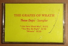 The Grapes Of Wrath : These Days - rare advance promo sampler cassette - 1991