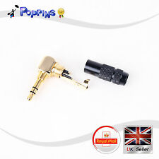 3.5mm Male Repair headphone Jack Plug Metal Audio Soldering