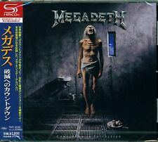 MEGADETH COUNTDOWN TO EXTINCTION JAPAN 2013 RMST SHM HIGH FIDELITY CD+4 - NEW!