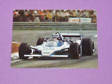 CARTE POSTALE CPA JACQUES LAFFITE LIGIER GITANES PILOTE F1 AUTO 1979 ZOLDER