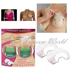 10 pc Bare Bring It Up Lifts Push Up Breast Bust Cleavage Shaper Tape NEW!  #FT2