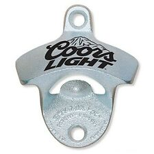 Coors Light Wall Mount Starr X Bar Pub Stationary Bottle Opener New