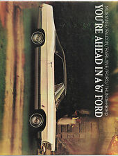 1967 Ford Auto Dealers Brochure Mustang Thunderbird