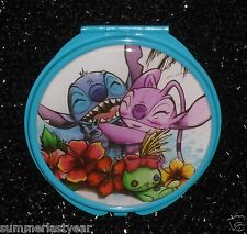 """STITCH AND ANGEL"" HINGED COMPACT MIRROR DISNEY'S ""LILO AND STITCH"" FREE SHIP"