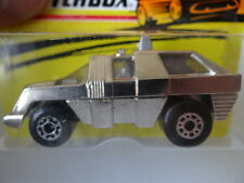 Matchbox Superfast N:59 Planet Scout ,Chromium,1:72, Diecast1975 New Old Stock