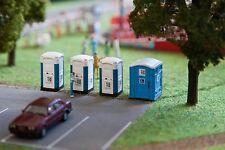 Faller 180543 HO 1/87 Toilettes transportables TOI TOI