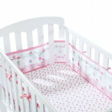 BreathableBaby 4 Sided Cot Wrap - English Garden