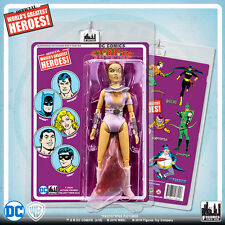 Official DC Comics Starfire 8 inch Action Figure on Mego-Like Retro Card