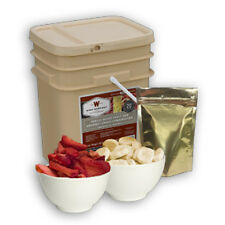 120 Serving Fruit & Snack Bucket  Wise Emergency Food Storage - Freeze Dried MRE