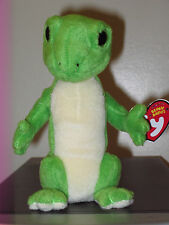 Ty Beanie Baby ~ GUS the Gecko - With Original BLACK EYES - MINT with MINT TAGS