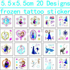 30 FROZEN TATTOOS Girls Kids Birthday Party Gift Bag Fillers Loot Favours Elsa