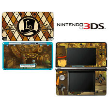 Vinyl Skin Decal Cover for Nintendo 3DS - Professor Layton