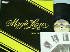 Magic Lane (Deutschrock) -Can't Get Enough  Beiblatt D-1981  Lava 81568  woc.