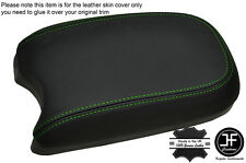GREEN STITCHING ARMREST LID LEATHER COVER FITS HYUNDAI SANTA FE 2001-2005