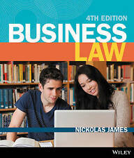 NEW -- FAST to AUS / NZ -- Business Law by Nickolas James (4 Ed)