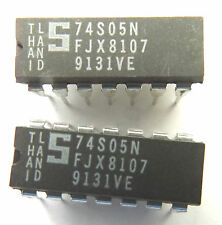 S74S05N 74S05N Signetic Buffer/Driver 6-CH Inverting Open Collector DIP-14 x2pcs