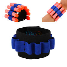 Ammo Bullet Blaster Dart Holder Carrier Bandolier Elastic Band for Nerf N-strike