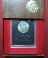 "1971-S  EISENHOWER SILVER ""PROOF"" DOLLAR COIN, San Francisco Mint w/ DisplayCase"