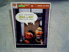 1978 ERNIE AND BERT SESAME STREET TRAY PUZZLE Muppets western publishing,window