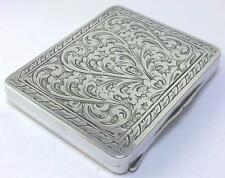 Vintage Italian '800' Silver Cigarette / Card Case or Tobacco Box – c 1930
