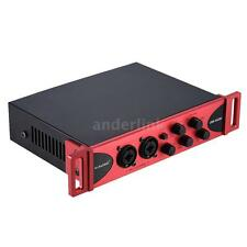 USB Audio Interface Mixer Sound Card Network for Recording Studio M6A6