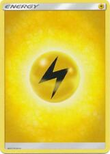4X Lightning Basic Energy -Sun and Moon Base Set- -NM- Pokemon 2017 Electric