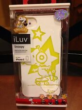 iLUV Snoopy Iphone 5,5s WHITE case, mode# ICA7T381 WHT