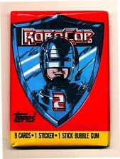 Robocop 2 Trading Card Packs Both Versions