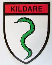 Kildare Irish County Crest Bumper Car Sticker Decal 8.9cm x 6.35cm